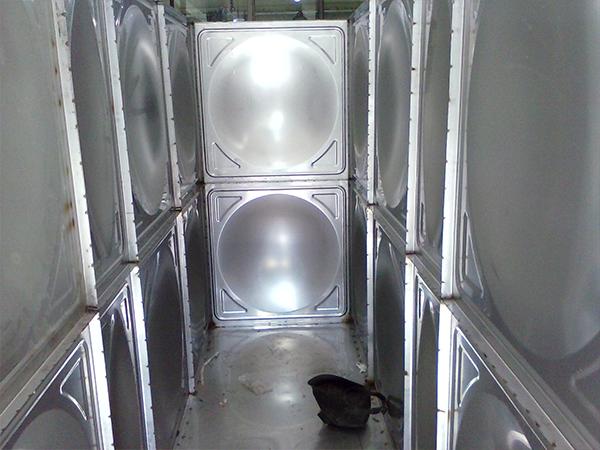 大连不锈钢水箱案例